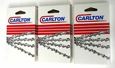 """18"""" Chains 3-Pack for POULAN PRO 3818 PP4218 Wildthing, ECHO CS-301  N1C-062G(3)"""
