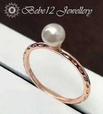 Pearl Ring/Rose gold/R118