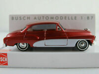"""Busch 44722 Buick ´50 Coupé (1950) """"Metallica"""" in rotmet./weiß 1:87/H0 NEU/OVP"""