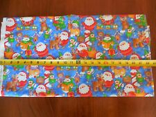 """By 1/2 Yd, 45"""" Wide, Quilting Cotton, Christmas Theme, R.E.D., B93"""