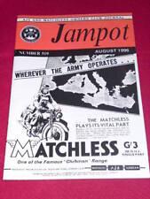 JAMPOT - AJS & MATCHLESS - Aug 1996 # 519