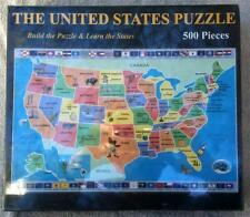United States Puzzle and Global Puzzle Broader View New and Sealed  B49