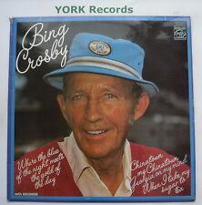 BING CROSBY - Where The Blue Of The Night ... - Ex Con LP Record MFP 50249
