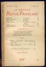 NOUVELLE REVUE FRANCAISE  J.GIONO C.AUTRAN  N°328 1941