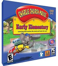 Charlie Church Mouse -Early Elementary, Bible Education, 6 Stories & Games, PC