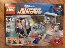 """Lego  DCUniverse SUPERMAN BLACK ZERO ESCAPE  76009   NEW     """"RETIRED"""""""