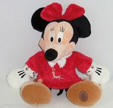 New listing Disney Store Minnie Mouse Christmas Plush Toy Red Gown Exclusive Original