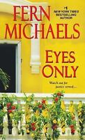 Eyes Only by Fern Michaels FREE SHIPPING paperback Sisterhood Series book 24