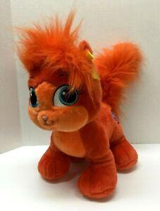 """Build A Bear Palace Pet for Princess Ariel Treasure 14"""" Kitten Cat Orange #R21B"""