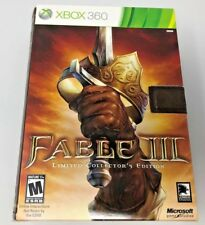 Fable III Limited Collector's Edition Xbox 360 Complete Set - BRAND NEW