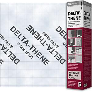 Dörken Delta Thene 20 x 1m Flächenabdichtung