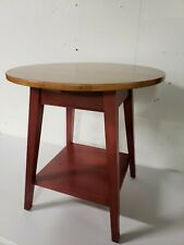"""ETHAN ALLEN Country Colors Collection 24"""" Round Accent End / Lamp Table 14-8404"""