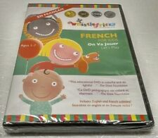 Whistlefritz Kids Age 1-7 French Language Learning On Va Jouer Lets Play DVD NEW