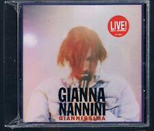 GIANNA NANNINI GIANNISSIMA LIVE CD SIGILLATO!!!