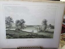Vintage Print,LIGHTNING LAKE,Exploration Mississippi R.to Pacific,1853-55
