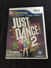 Just Dance 2 (Nintendo Wii, 2010) Dancing II ~With Case & Manual~Complete Game~