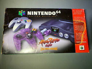 Nintendo 64 N64 Game Console System In Box Good Working
