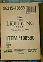 1994 SKYBOX * THE LION KING SERIES 2 * SEALED 10 BOX CASE * 360 PACKS * PSA