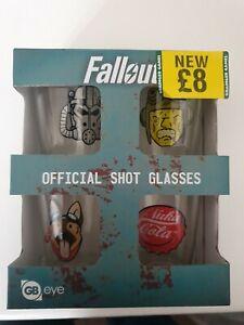 Fallout 4 Icons Alcohol Shot Glass Set - Fallout Bethesda Merchandise by GB Eye