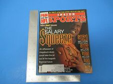 Vintage December 1996 Inside Sports Magazine NBA The Salary Squeeze 88 pgs. M605