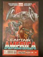 CAPTAIN AMERICA #7 (2013 MARVEL NOW! Comics) VF/NM Book