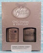 CND Shellac & Vinylux Duo Set GILDED DREAMS GRAND GALA Holiday Ltd Ed NIB C90709