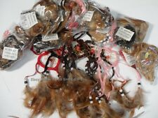 12x SET Wholesale LOT Handmade Hanging Natural Feather Dream Catcher Small Heart