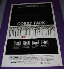 GORKY PARK MOVIE POSTER ORIGINAL ONE SHEET