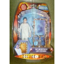 Doctor Who Series 2 - Chip and Destroyed Lady Cassandra Action Figure Set Dr Who