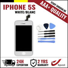 AAA+ LCD SCREEN VITRE TACTILE SCHERM/ÉCRAN WHITE BLANC & TOOLS FOR IPHONE 5S