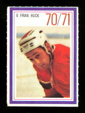 1970-71 ESSO POWER PLAYERS NHL 6 FRAN HUCK EX-NM MONTREAL CANADIENS UNUSED STAMP