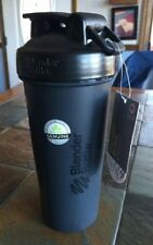 Blender Bottle Classic 28 oz. Shaker with Loop Top Sports Protein Shake Black