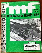 RMF Rail Miniature Flash 152 du 10/1975; Fiche Old-Timer/ Les 030 T Ouest Boers