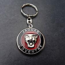 Jaguar Schlüsselanhänger Coventry Keyring XJ XF XK MK X E F R E Type 3 D Emblem