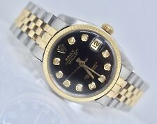 Authentic Rolex Midsize 31mm Two Tone Swiss Made Automatic Watch
