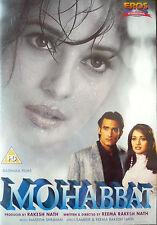 MOHABBAT - ORIGINAL EROS BOLLYWOOD DVD - Madhuri Dixit, Akshaye Khanna