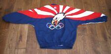 Vintage 1996 Olympic Starter Team Jacket Eagle size Large   Shell Jacket