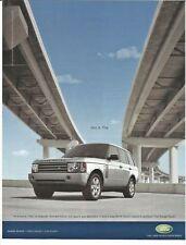 LAND RANGE ROVER 2004 Advertisement Original AD