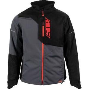 509 Mens Range Insulated Jacket Black Ops, Hi-Vis, Red, Cyan Snowmobile Coat