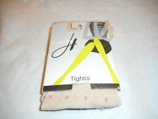 N/W/B Hanes Female Double Dot Tight Nude With Coral Size MEDIUM