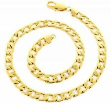 Yellow Gold Men's Chains and Necklaces