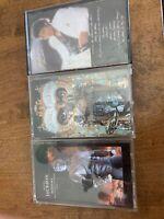 "Michael Jackson Cassette Lot ""Thriller, Dangerous, History"" As Is"