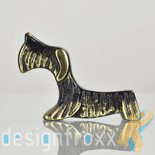 Walter Bosse Black Patina Bronze Scotch Terrier Pen Stand Baller Hagenauer