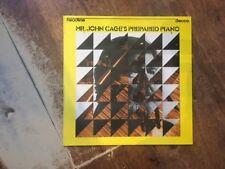 Mr John Cage's Prepared Piano LP- Sonatas & Interludes For Prepared Piano!!!!!