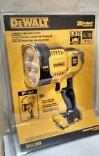 OFFICIAL DEWALT DCL043 20V MAX* Lithiumion Jobsite LED Spotlight/worklight