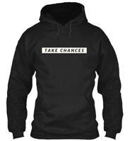 Take Chances - Gildan Hoodie Sweatshirt
