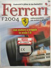 Ferrari Formula 1 F2004 De Agostini Kyosho a Scoppio Ricambio N°25 04025 Nuovo