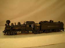4 Truck Logging Steam Locomotive / Shay - custom built and weathered - sound DCC