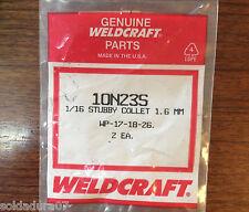 2 Porte Électrodes 1,6 Soudure TIG Torche WP-17-18-26 WELDCRAFT