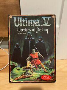 Apple II IIe IIc IIgs - ULTIMA V: WARRIORS OF DESTINY - by Origin - Complete CIB